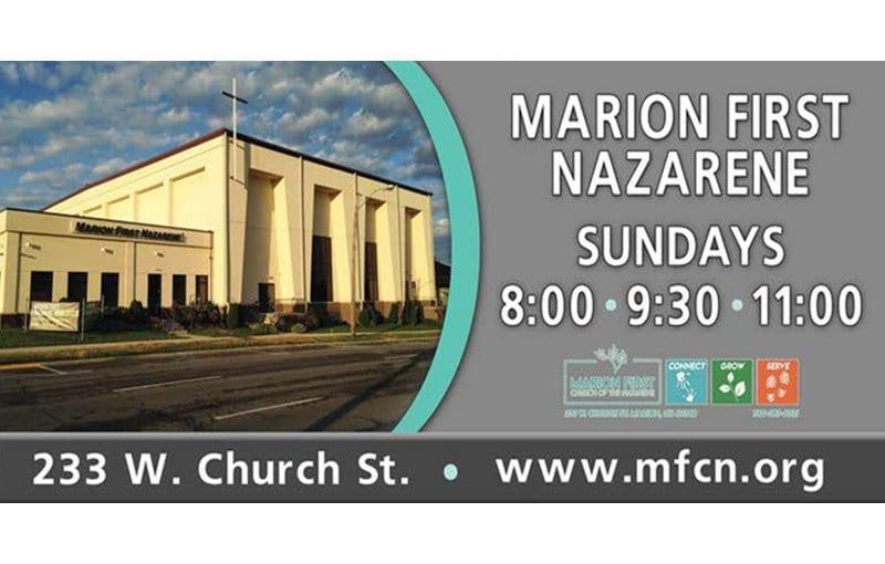 Marion First Nazarene Brite Lite Media Billboards
